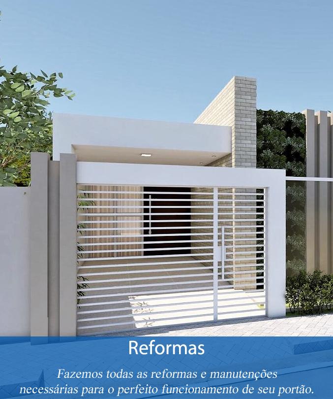 Reforma de portões